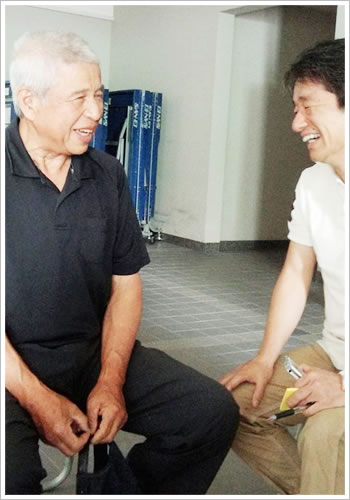 「交野葡萄レジェンド」の今堀さんと大谷さん